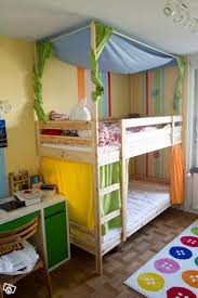 Bunk Bed With Trundle Ikea by Best 25 Bunk Bed Canopies Ideas On Pinterest Girls Bunk Beds