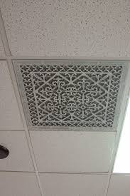 Drop Ceiling Vent Deflector by Popular Decorative Ceiling Vent Covers Modern Ceiling Design