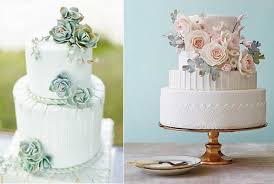 Succulent Wedding Cake By Cakes Krishanthi Left And Silvery Foliage Pink Floral