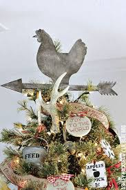 How To Make A Rustic Christmas Tree Topper