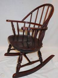 Antique Nichols & Stone Windsor Rocking Chair Child's Rocker ... Nichols Stone Stenciled Maple Deacons Bench Fantastic Antique Midcentury Maple Boston Rocker Rocking Chair In Hamilton South Lanarkshire Gumtree Nichols Stone Details About Solid Hard Rock Windsor 20 An Late 20th Century Traditional Colonial Style And Living Room Weminster Ns566rw Lot 123 Auction By Norcal Online 1970s Vintage Hitchcock Co Restoration Of A Rocking Chair Antique Appraisal Instappraisal Cherry Jonathan Steele
