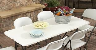 Hop On Over To Target Where This Plastic Dev Group 6 Ft Folding Banquet Table Is Sale For Just 29 Regularly 3899