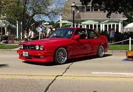 1988 BMW E30 M3 2 Door Coupe in Red Paint & Engine Start Up on My