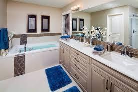 Royal Blue Bathroom Wall Decor by Beige And Blue Bathroom Bathroom Tropical With Half Wall Half Wall