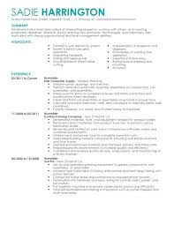 Manufacturing Job Resume For Ideas Warehouse Description Examples