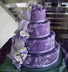 Purple Wedding Cake wedding beautiful flowers cake purple cakes wedding cake wedding cakes cake ideas cake