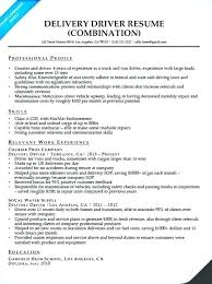Building Maintenance Resume Sample Examples Delivery Driver Companion Image Combination Facility