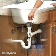 kitchen sink stinks when running water sewer smell from kitchen sink when running water sewage drain