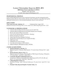Example Rn Resume New Registered Nurse Best Of