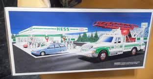 1994 HESS TOY EMERGENCY TRUCK NEW IN BOX – Collectibles Amazoncom Hess 1990 Colctable Toy Tanker Truck Toys Games Box 1990s 9 Listings Custom Hot Wheels Diecast Cars And Trucks Gas Station Day 2 Collection Of Colctables In Scranton Hess Toy Original Gasoline Fire Vintage 2672 Rescue 1994 Nib Non Smoking Vironment Lights Horn Siren 1991 Racer Hess Trucks Pinterest Products Eastern Iowa Farm Olo Lot 16 19942009 Christmas Holiday Cporation Wikipedia Vintage