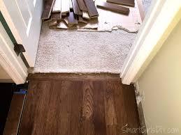 Laminate Floor Transitions Doorway by Carpet Wood Floor Transition Doorway U2022 Wood Flooring Design