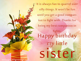 Birthday wishes For Sister that warm the heart 365greetings