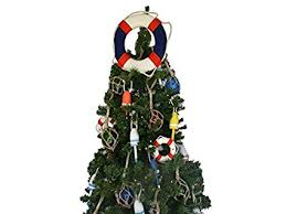 American Lifering Christmas Tree Topper Decoration