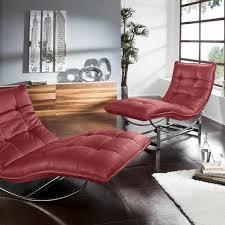 relaxliegen polsterliegen in rot preisvergleich moebel 24