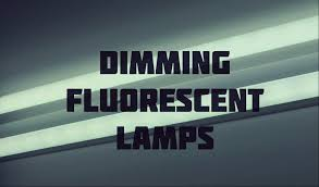 fluorescent lights dimming fluorescent light dimmable