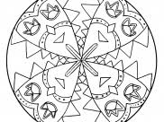 Mandala Coloring Pages By Theme Characters