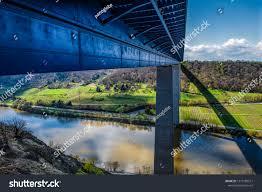 100 Water Bridge Germany Highway A91 Crossing River Stock Photo Edit