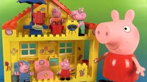 peppa pig maison jeu de construction jouets peppa s house blocks