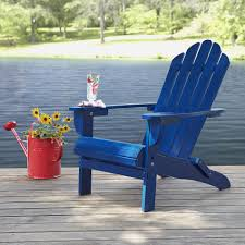 Adams Adirondack Chair Pool Blue by Yellow Plastic Adirondack Chair Patio Seating Ideas