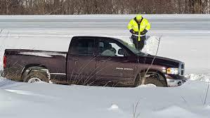 100 Trucks In Snow Grand Haven Tribune 3 Hurt In I96 Crash