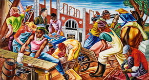 Famous American Mural Artists by Hale Woodruff U0027s Vibrant Murals Immortalize African American History