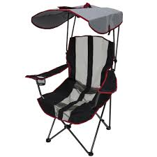 Kelsyus Premium Canopy Foldable Outdoor Lawn Chair With Cup ...