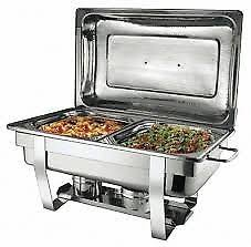 Double Pan Chafing Dish Food Warmer