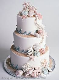 Best 25 Beach Wedding Cakes Ideas On Pinterest