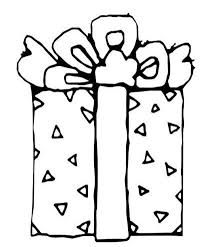 Gift Printable Coloring Pages Christmas