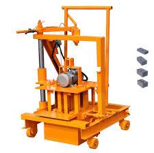 100 Bricks Truck Sales Qtf 403c Small Manual Mobile Block Brick Fly Ash Cement Gal Making