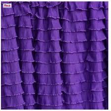 Dark Purple Ruffle Curtains dark purple ruffle curtain 84