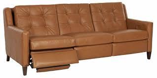 mid century modern power wall hugger reclining sofa