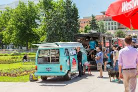 Denver, Colorado, USA-June 9, 2016. Food Trucks At The Civic.. Stock ... Liquid Food Trucks Driving Denvers Mobile Business Eater Denver A Moving Truck Festival Is Rolling Through This Summer Austingrown Taco Juggernaut Torchys Announces First Outofstate Best In Beautiful Google Image Result For Jtleucli5ve Tdq Colorado Usajune 9 2016 At The Civic Stock Home Event Catering Mile High City Sliders Sugar Storm Party Mix Pick Candy Bag Package Specializing In Puerto Rican Comfort Gives Images Collection Of Street Two Food Trucks For Sale And Prices