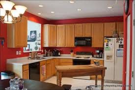 Kitchen Wall Paint Colors With Cherry Cabinets by Kitchen Awesome Dark Kitchen Cabinets With Light Wood Floors And