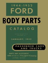 100 Ford Truck Body Parts OEM Repair Maintenance Book Bound For Car