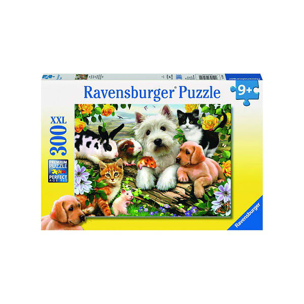 Ravensburger Happy Animal Buddies Puzzle - 300 Pieces