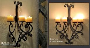 wall candle sconces candle wall decor in style home