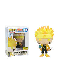 Glow In The Dark Plastic Pumpkins by Funko Naruto Shippuden Pop Animation Glow In The Dark Naruto Six