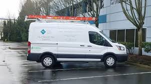 100 Ford Hybrid Truck Washington Utility Grows Van Fleet Utility Fleet