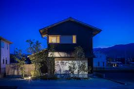 100 Japanese Modern House Stylish Synergy Home With A View Of Distant Mountains