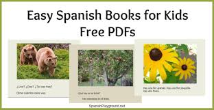 Halloween Books For Preschoolers Online by Easy Spanish Books Pdf For Kids Spanish Playground