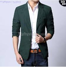 Spring 2015 Men Suit Jacket Terno Masculino Latest Coat Designs Blazer Urban Clothing Pea Coats Man Shorts Online With 440 Piece On Highquality2015s