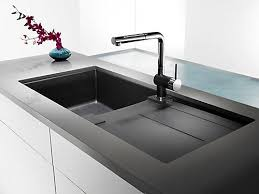 Home Depot Kitchen Sinks Canada by Blanco Silgranit Natural Granite Composite Topmount Drainboard
