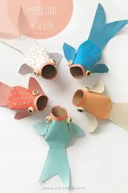 PAPER TUBE KOI FISH