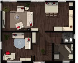 grundriss erdgeschoss offene küche elegance stadthaus