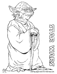 Star Wars Coloring Pages 2015 In Yoda