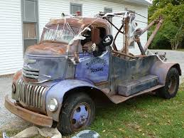 100 Truck From Jeepers Creepers 40s Vintage Chevrolet COE Tow Ohio Another View Of