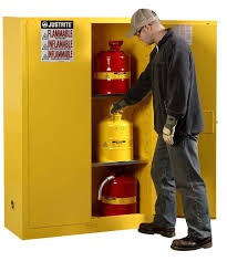Flammable Safety Cabinet 45 Gal Yellow by Flammable Storage Cabinet The Storage Home Guide