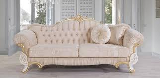 casa padrino barock sofa beige weiß gold 228 x 105 x h 85 cm edles wohnzimmer sofa mit glitzersteinen wohnzimmer möbel im barockstil