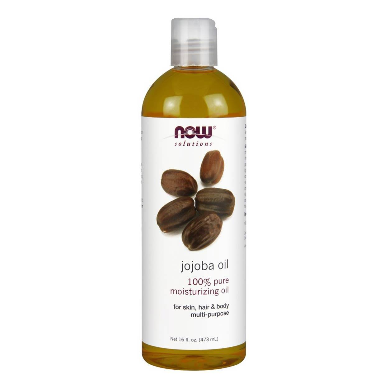 Now Solutions Jojoba Oil - 473ml